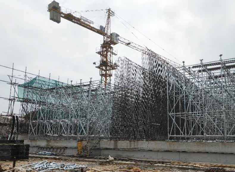 建筑模板施工工程框架