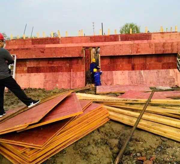 建筑模板用量