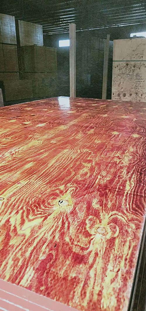 广西红模板