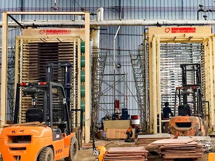 高品质建筑模板生产