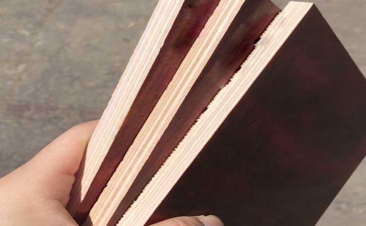 高使用率广西建筑覆膜板