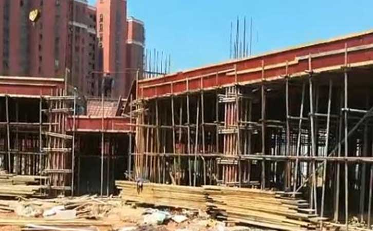 建筑模板使用工程